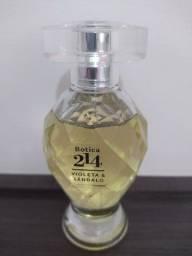 Perfume Botica 214 Violeta & Sândalo - O Boticário