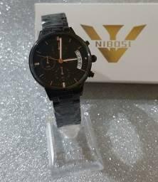 Nibosi Relógios Femininos Multifuncional