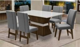 Mesa Imola com 6 cadeira//entrega e monta na hora