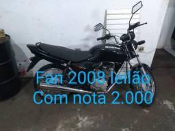 Fan 2008 leilão