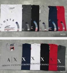 Camisetas algodão 30.1 linha Premium