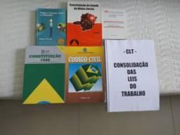 Livros/apostilas diversos para concursos.