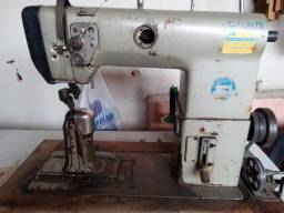 Máquina de costura couro industrial