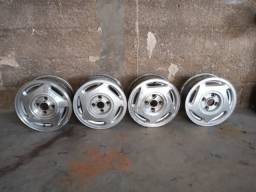 Jogo de rodas aro 13 - alumínio orbital