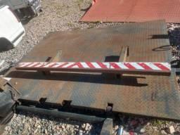Plataforma rampa traseira