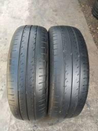 Par de pneus 175/65/14 em ótimo estado