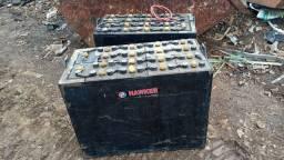 Baterias para Empilhadeiras Elétricas Hawker EnerSystem semi-novas funcionando