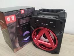 Caixa de som Bluetooth Big Sound KTS-1018F - Caixinha Top