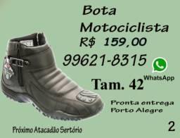 Bota Motociclista Selten . Pronta Entrega em Porto Alegre