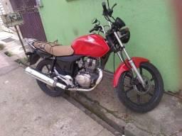 Vendo minha moto