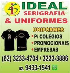 camisetas e uniformes