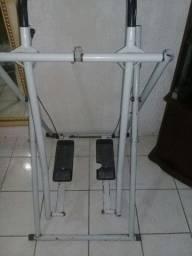 Vendo simulador de caminhada sofá usado e exalstor de fogão