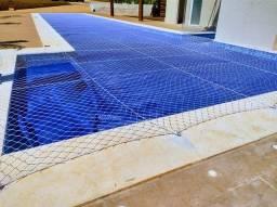 Tela de proteção para piscina
