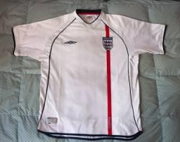 Camisa Seleção Inglaterra original Umbro Tamanho G 2002