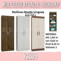 ARMÁRIO MULTIUSO ATUALLE URUGUAY (armário multiuso)!