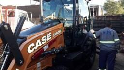 Retroescavadeira Case 580 N 4X4 Cabinada com Ar 2019