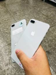 iPhone 8 Plus prata >> produto com garantia
