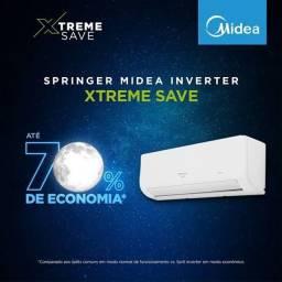 Ar Split Springer Midea Inverter 9000 BTUs + Wi Fi + Garantia + Aceito Cartão