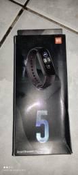 Pulseira Inteligente SmartBand Mi Band M5 Azul