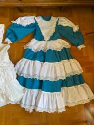 Vestido de São João festa junina julina prenda