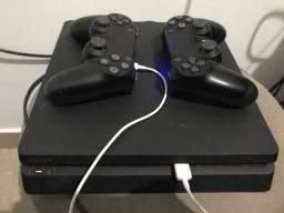 Ps4 + 9 jogos 2 controles