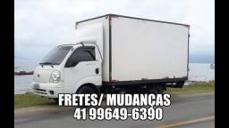 Fretes Curitiba/ Litoral PR e SC