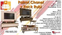 Painel Chanel + Rack Rubi