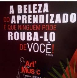 Título do anúncio: Escola de Musica Art music