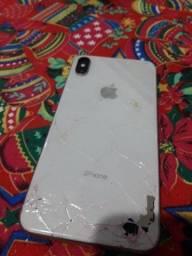 Troca vidro traseiro iphone quebrado