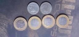 Vendo essas moedas raras pra colecionadores