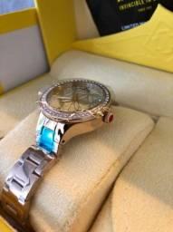 Relógio Invicta Wildflower Quartzo feminino original importado