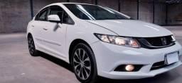 Honda Civic  LXR - 14/15- O Mais Completo da Categoria Cambio Automatico Cvt- Km 76.534