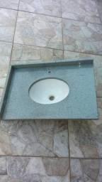 Pia de Mármore com cuba (72cm X 50cm)- TORRO/ TORRANDO
