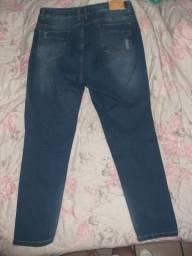 Calças Jeans (dois moledinhos)