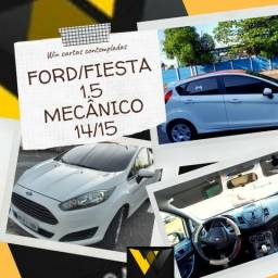 Fiesta 1.5 Mecânico 14/15 Completo - 2015