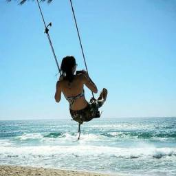 Stúdio no Campeche pra ir à pé para a Praia
