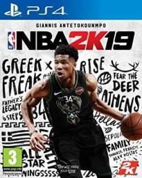 NBA 2K19 para Playstation 4, novo! Aceito cartão