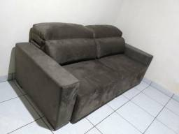 Sofá retrátil reclinável 2,20 novo nunca usado