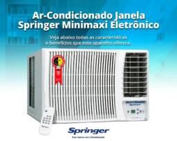 Ar Condicionado Janela 12.000 Btus, Springer Minimaxi turbo Eletrônico