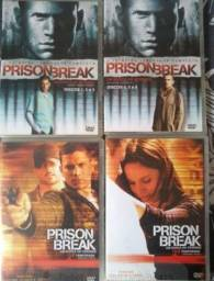 Prison Break - 1° e 2° temporadas em DVD