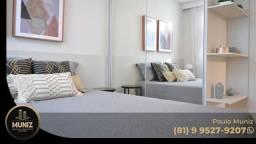 KM Melhor Condomínio Clube de Camaragibe, 2 quartos, Lazer, Elevador!