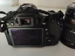 Câmera Canon Eos 70d + Lente 50mm