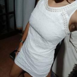 Vestido branco TAM 36 / P