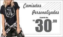 Camisetas Personalizadas R$ 30,00