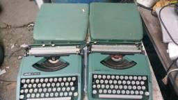 Só colecionador máquina de escrever