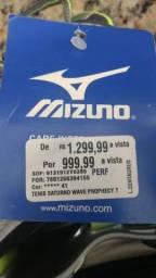Tênis Mizuno Saturno Prophecy 7 39/40 NOVO
