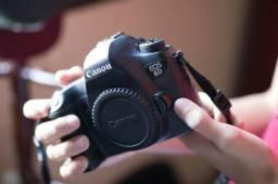 Canon 6D 40 mil clicks + 3 baterias