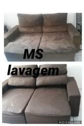 Lavagem de sofás