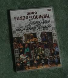 DVD Fundo de Quintal - Samba de Todos os Tempos