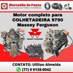Motor completo para Colheitadeira 9790 Massey Ferguson